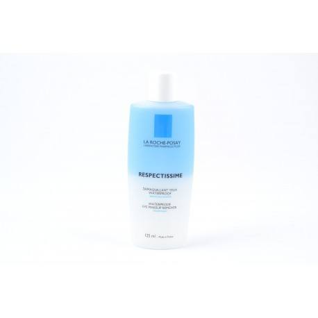 LA ROCHE POSAY RESPECTISSIME Lot démaq waterp yeux 125ml