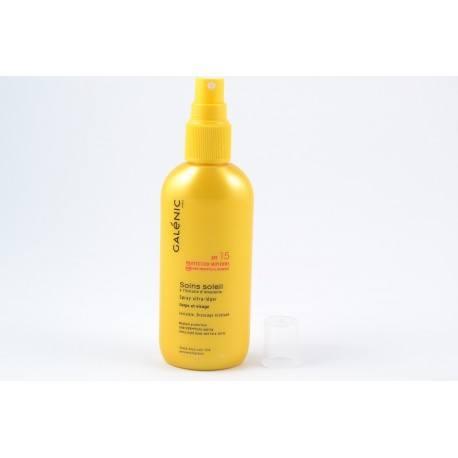 GALENIC SOINS SOLEIL SPF15 Spray ult-lg 125ml