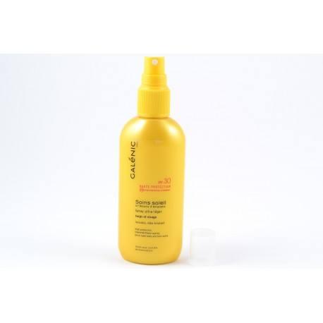 GALENIC SOINS SOLEIL SPF30 Spray ultra-léger 125ml