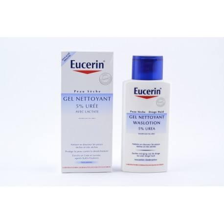 EUCERIN 5% d'Urée Gel nettoyant Flacon de 200ml