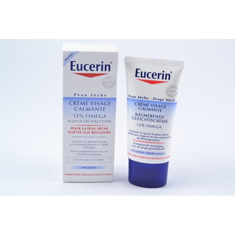 eucerin omega cr me visage calmante sans parfum tube de 50ml notrepharma. Black Bedroom Furniture Sets. Home Design Ideas