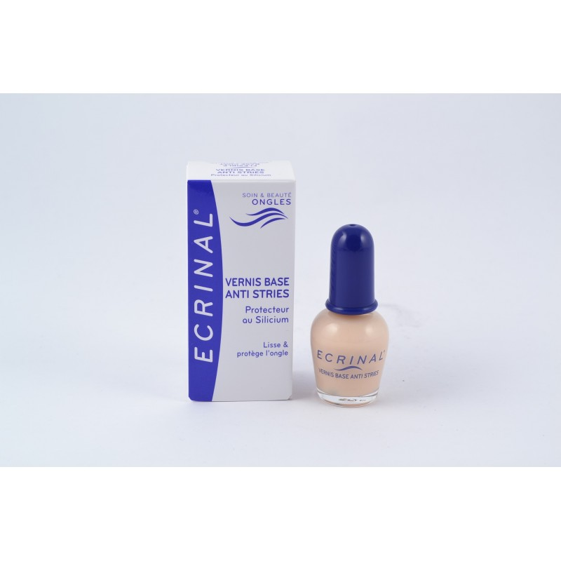 Ecrinal ongles vernis base anti stries 10ml notrepharma - Mallette pour vernis a ongles ...