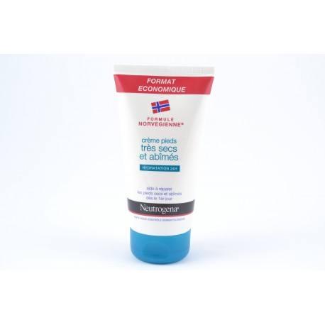 Neutrogena Crème Pieds Très Secs et Abîmés 150 ml