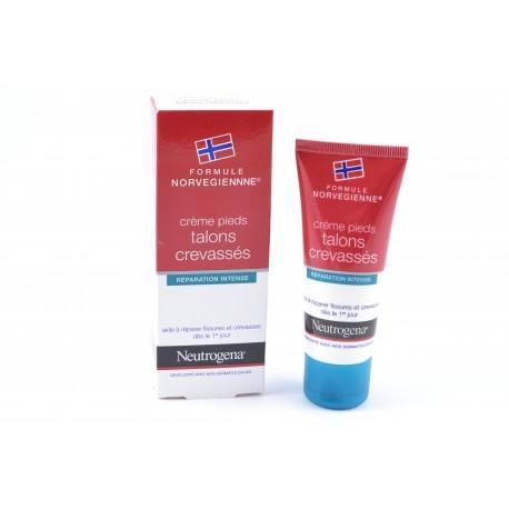 Neutrogena Crème Pieds Talons Abîmés Fissures Crevasses 40 ml
