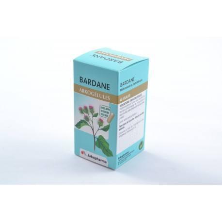 ARKOGELULES Bardane Gélules Flacon de 45