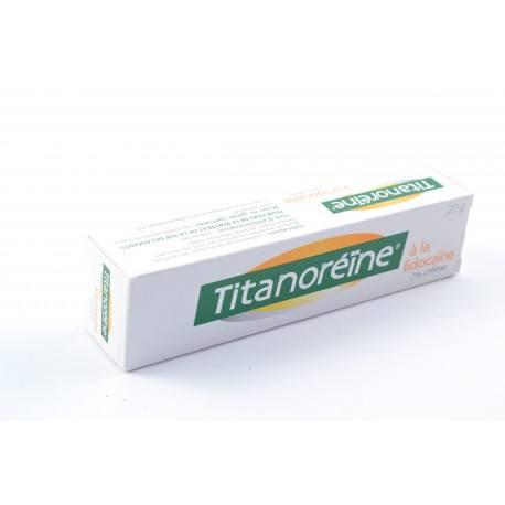 TITANOREINE lidocaïne 2% Crème rectale Tube de 20g