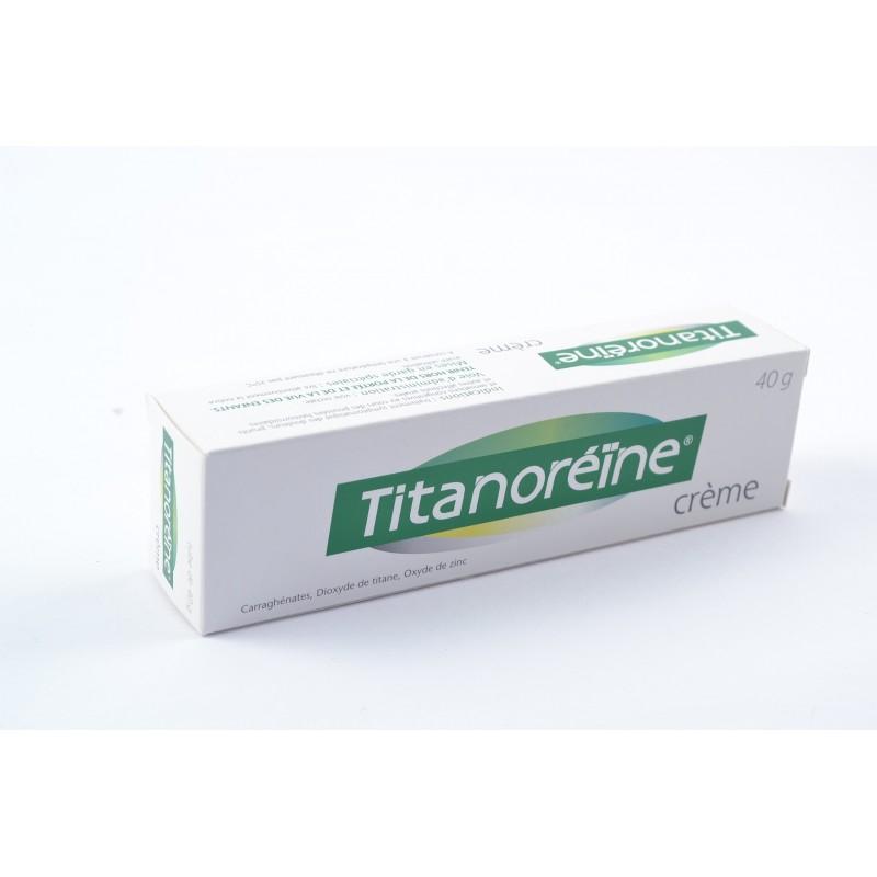TITANOREINE Crème Tube de 40g - NotrePharma