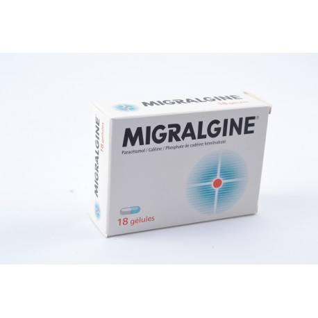 MIGRALGINE Gélules Boite de 18