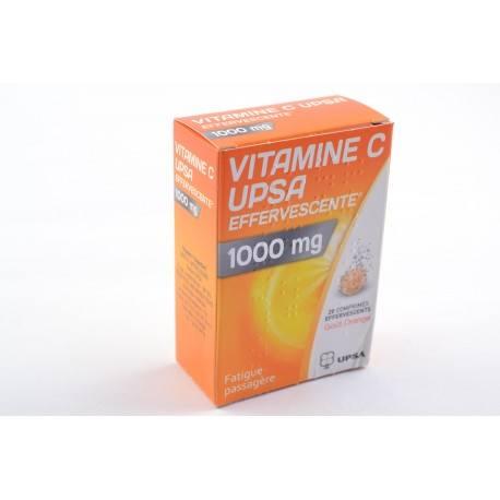 VIT C UPSA 1000mg Comprimés effervescent 2 Tubes de 10