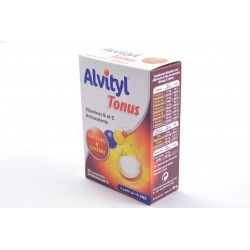 ALVITYL TONUS Comprimés effervescents goùt orange Boite de 20