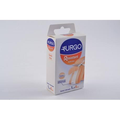 URGO RESISTANT Pansement bande à découpé antiseptique 6cmx1m