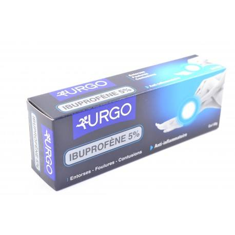 URGO ibuprofene gel application locale 5 %