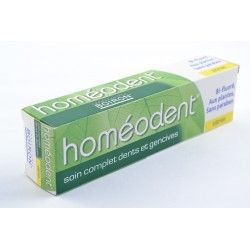 HOMEODENT Soins Complet Pâte dentifrice citron Tube de 75ml
