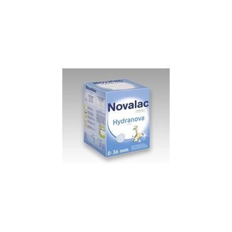 NOVALAC HYDRANOVA Poudre suspension buvable réhydratante 10/6,5g