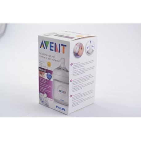 AVENT NATURAL Bib polyprop 125ml