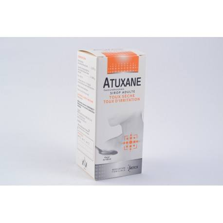 ATUXANE 6mg/ml Sirop Adultes Flacon de 125ml