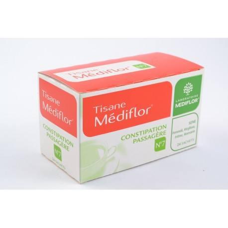 MEDIFLOR n°7 Tisane Mélisse constipation 24 Sachets