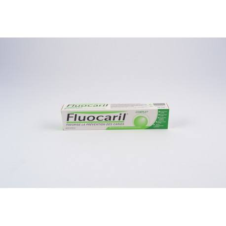 Fluocaril-Dentifrice Fluocaril Complet - Favorise la Prévention des Carries - Tube 75m