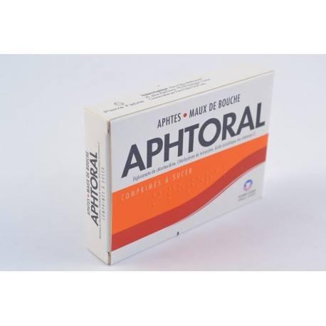 APHTORAL Comprimés à sucer Boite de 24
