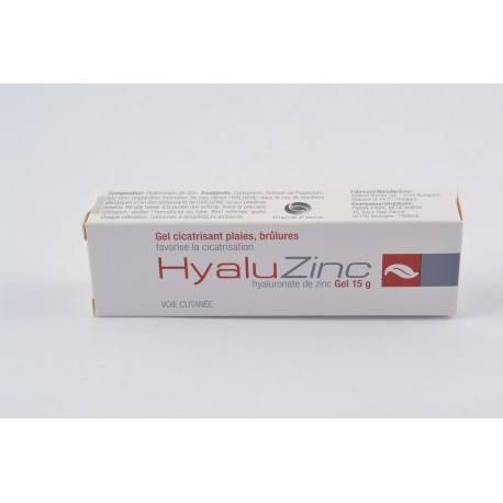 HYALUZINC Gel cicatrisant Tube de 15g