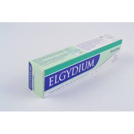 ELGYDIUM Gel dentifrice dent sensible Tube de 75ml