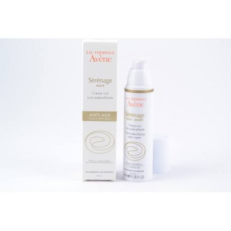 AVENE SERENAGE Cr nuit nutri-redensif 40ml
