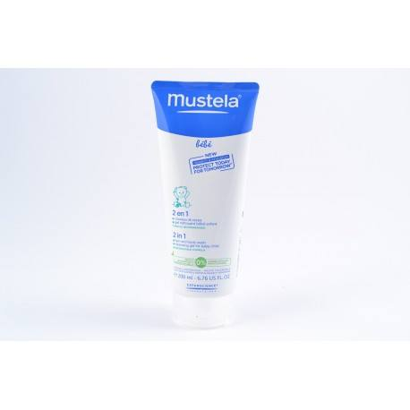 MUSTELA BB Shamp 2en1 chev corps T/200ml