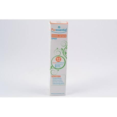 PURESSENTIEL Huile essentielle sommeil et détente Spray de 75ml