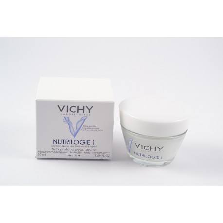 VICHY NUTRILOGIE 1 Crème nourrissante apaisante Pot de 50ml