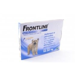 FRONTLINE Solution externe Chien 10-20kg 6 doses