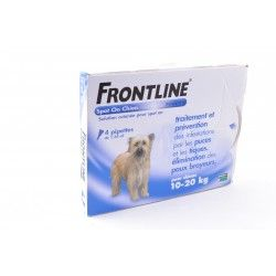 FRONTLINE Solution externe Chien 10-20kg 4 Doses