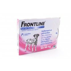 FRONTLINE Solution externe Chien 20-40kg 4 Doses