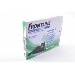FRONTLINE Solution externe Chat 4 Doses