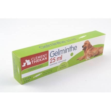GELMINTHE Pâte vermifuge orale Flacon de 25ml