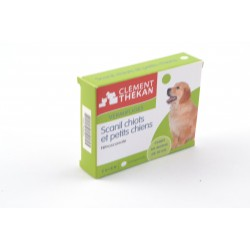 SCANIL Comprimés vermifuge chiot et petit chien Boite de 6