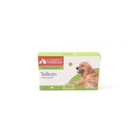 TELKAN Comprimés vermifuges chien/chat Boite de 10