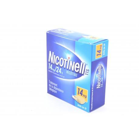 NICOTINELL TTS 14mg/24h Disp tr 20cm² 28Sach
