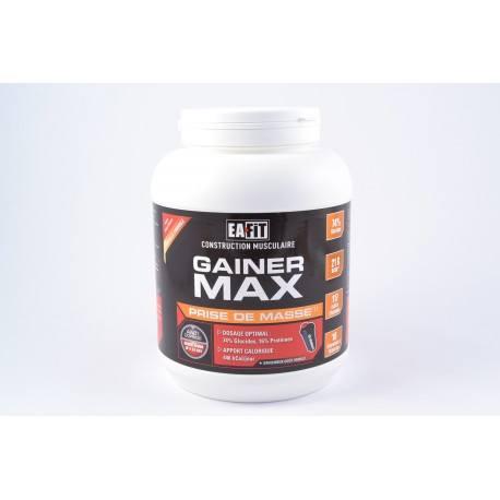 EAFIT GAINER MAX Poudre pour boisson gopût vanille Pot de 1.1 kg