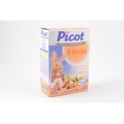 PICOT Flocons gourmands 5 fruits dès 4 mois Boite de 200 g