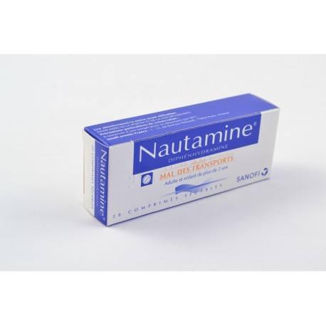 NAUTAMINE 90 mg Comprimés sécables B/20