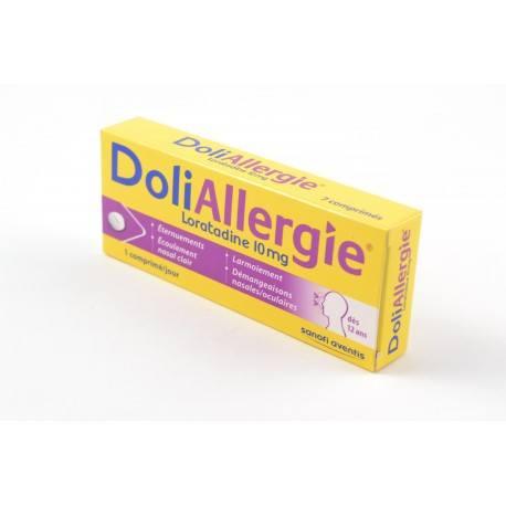 DOLIALLERGIE LORATADINE 10 mg Comprimés Plq/7o