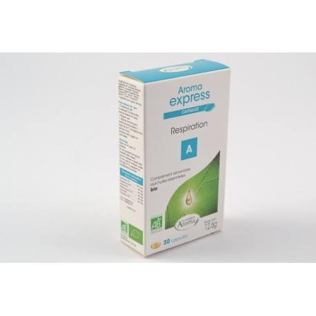 AROMA EXPRESS Capsules Respiration Boite de 30