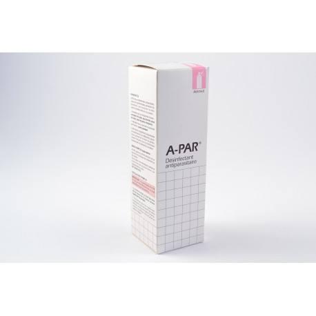 APAR Solution désinfectante anti-parasitaire Aérosol de 200ml