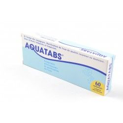 AQUATABS 1cp/litre Comprimés effervescents B/60