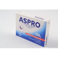 ASPRO 500mg Comprimés sécables Boite de 20