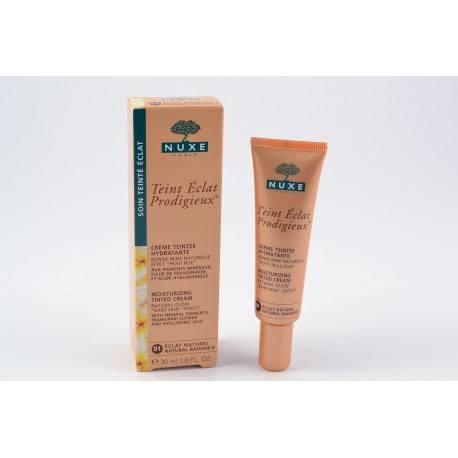 NUXE Crème teintée Eclat Prodigieux Teint Eclat naturel tube de 30 ml