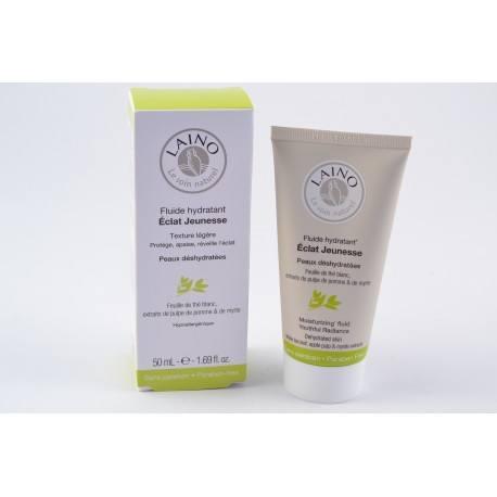 LAINO VISAGE Fluide Hydratant Eclat Jeunesse Texture Légère.Px Deshydratées.T/50ml