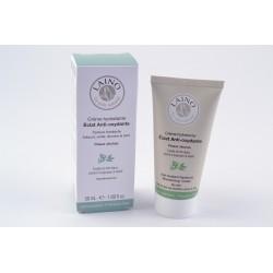 LAINO VISAGE Crème Hydratante Eclat Anti-oxydante Texture Fondante Peaux sèches Tube de 50ml