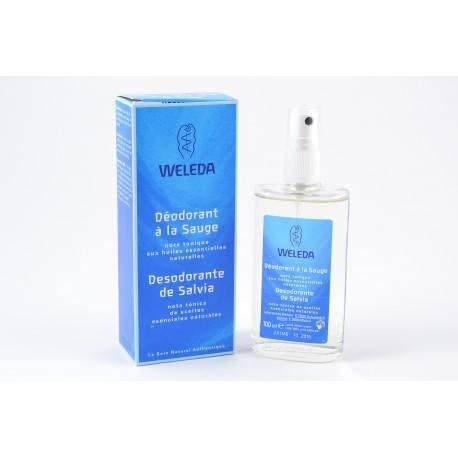WELEDA Fraicheur Déodorant à la Sauge Vaporisateur de 100 ml