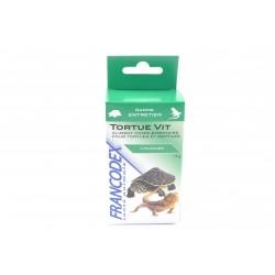 FRANCODEX Tortue Vit Complément Vitamines pour tortues et reptiles Boite de 15g